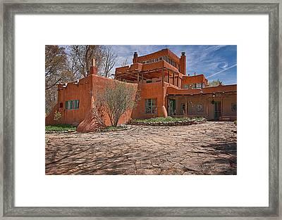 Mabel Dodge Luhan House  Framed Print by Charles Muhle