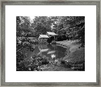 Mabry Mill 2 Framed Print by Mel Steinhauer