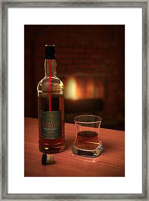 Macallan 1973 Framed Print by Adam Romanowicz