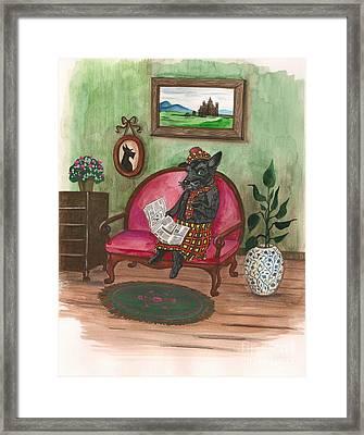 Macduff After Work Framed Print by Margaryta Yermolayeva