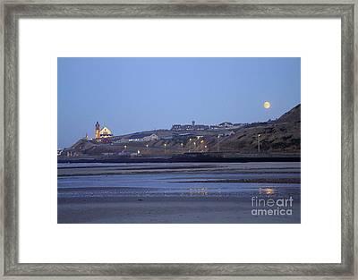 Macduff Moonlight Framed Print by Phil Banks