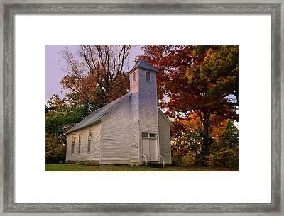 Macedonia Missionary Baptist Church Framed Print by Chris Flees