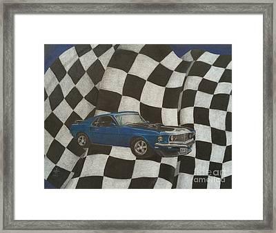 Mach Speed Framed Print by Ambre Wallitsch