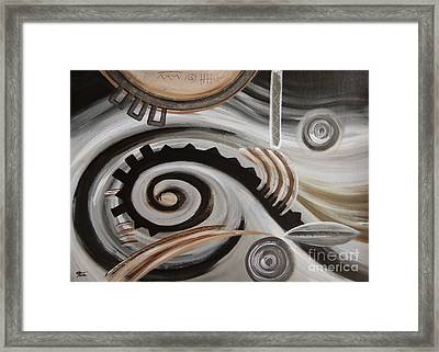 Machine Framed Print by Eva-Maria Becker