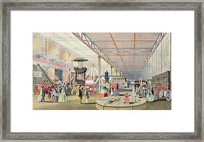 Machinery, From Dickinsons Framed Print by English School