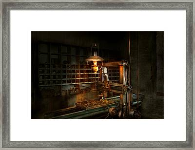 Machinist - At The Millers  Framed Print by Mike Savad