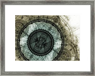 Machinist's Dream Framed Print by Martin Capek