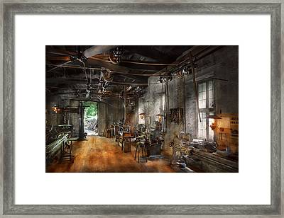 Machinist - The Millwright  Framed Print by Mike Savad