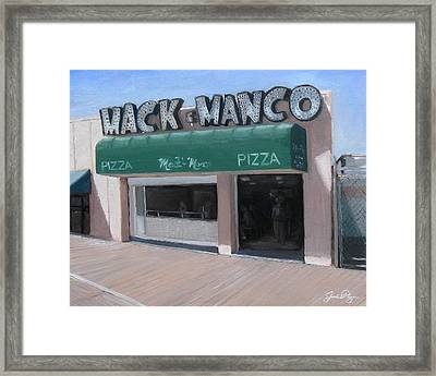 Mack And Manco Framed Print by Jamie Pogue
