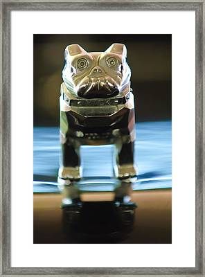 Mack Truck Hood Ornament 2 Framed Print by Jill Reger