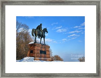 Mad Anthony Framed Print by Olivier Le Queinec
