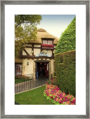 Mad Hatter Fantasyland Disneyland 01 Framed Print by Thomas Woolworth