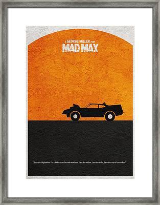 Mad Max Framed Print by Ayse Deniz