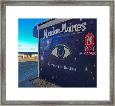 Madam Marie's Asbury Park New Jersey Framed Print by Terry DeLuco