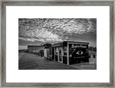 Madam Marie's Framed Print by David Rucker