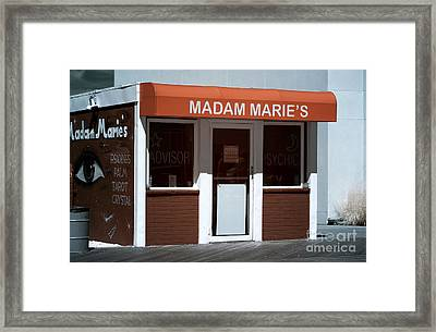 Madam Marie's Infrared Framed Print by John Rizzuto