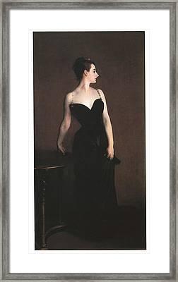 Madame X  Framed Print by John Singer Sargent