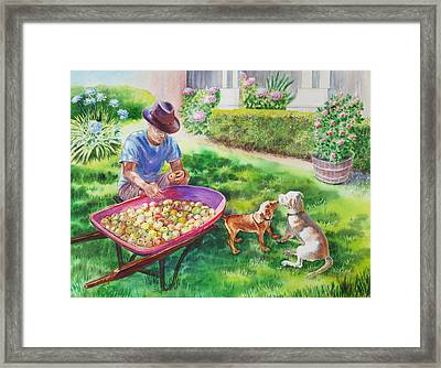 Made In Usa Framed Print by Irina Sztukowski