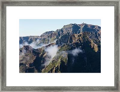 Madeira Central Highland Framed Print by Dr Juerg Alean