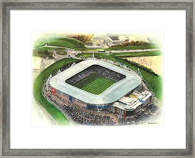 Madejski Stadium - Reading Framed Print by Kevin Fletcher