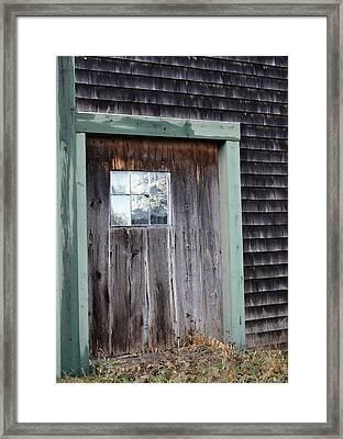 Madeline's Barn - Light In The Dark Framed Print by Nina-Rosa Duddy