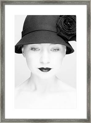 Mademoiselle Framed Print by Silvia Floarea Toth