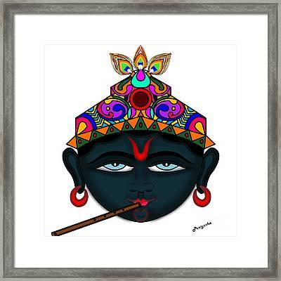 Madhusudana Framed Print by Pratyasha Nithin