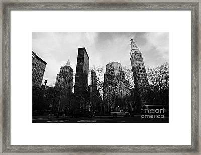 Madison Square Park Flatiron District New York City Framed Print by Joe Fox