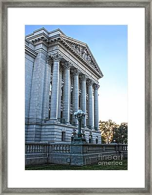 Madison Wisconsin Capitol Building - 05 Framed Print by Gregory Dyer