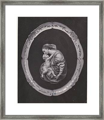 Madonna And Child Framed Print by Allan Koskela