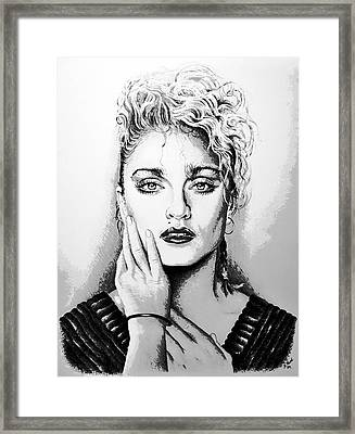 Madonna Framed Print by Andrew Read