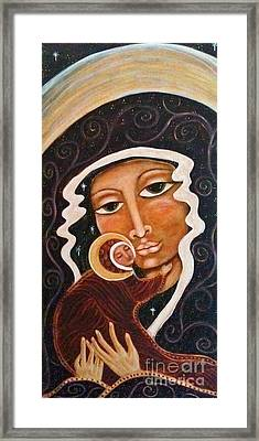 Madonna Of The Milky Way Framed Print by Maya Telford