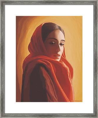 Maeror Framed Print by SophiaArt Gallery