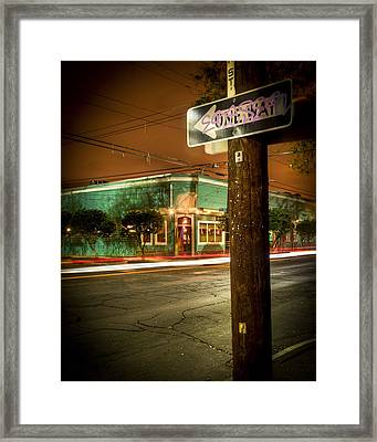 Magazine And Webster Framed Print by Ray Devlin