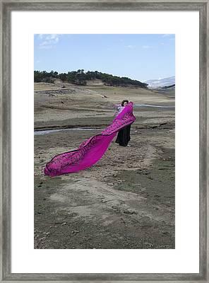 Magenta Madness Framed Print by Teri Schuster