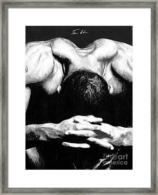 Maggette Framed Print by Tamir Barkan