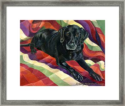 Maggie Lennon Framed Print by Kimberly McSparran