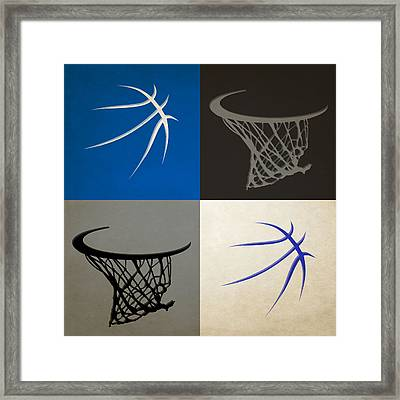 Magic Ball And Hoops Framed Print by Joe Hamilton