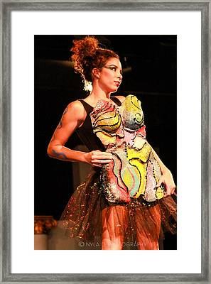 Magic Body Mask Framed Print by Dedo Cristina