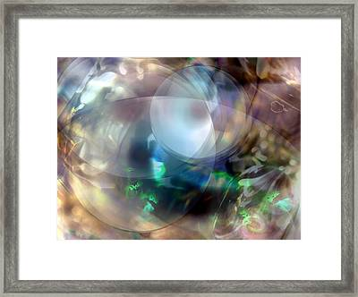 Magic Glass II Framed Print by Judy Paleologos