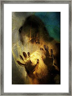 Magic Hands Framed Print by Gun Legler