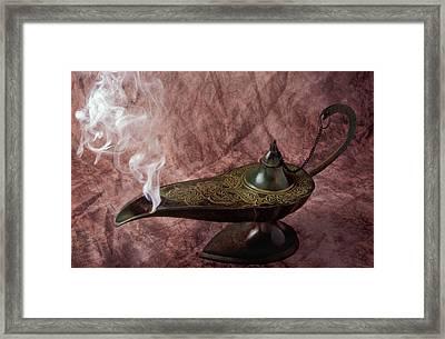Magic Lamp Framed Print by Garry Gay