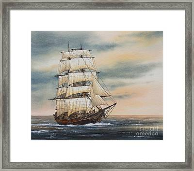 Magic Of The Sea Framed Print by James Williamson