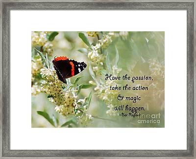 Magic Will Happen Framed Print by Kerri Farley