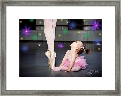 Magical Ballet Framed Print by Lilly Penke