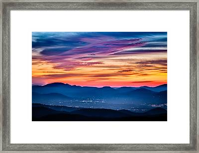 Magical Dawn Framed Print by Rob Travis