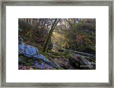 Magical Fairy Glen Framed Print by Ian Mitchell