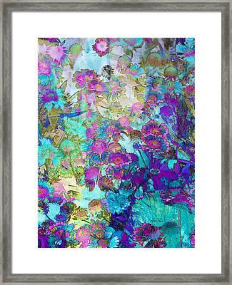 Magical Garden Framed Print by Ann Powell