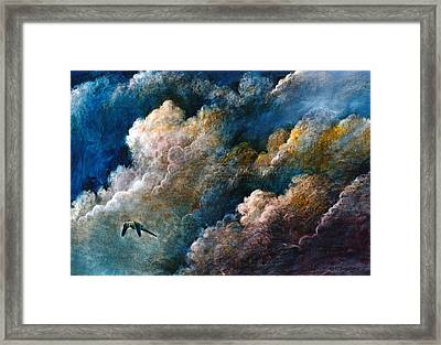 Magical Journey Framed Print by Frank Robert Dixon
