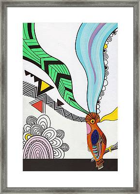 Magical Mind Framed Print by Susan Claire